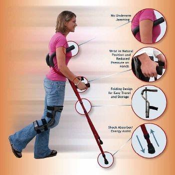 Millennial Crutch-Junior-Pair by Stander