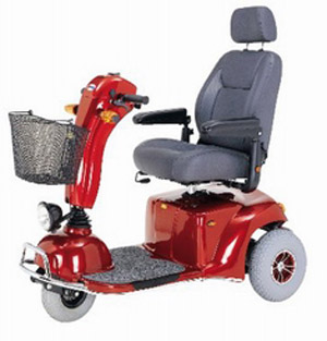 Merits S331 Pioneer 9 DLX - Bariatric scooter