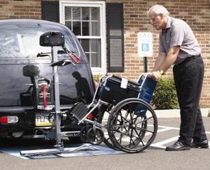 Freedom Car-Go-Mate Wheelchair lift