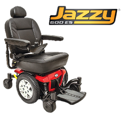Pride Jazzy 600 power chair