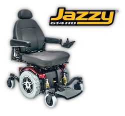 Pride Jazzy 614HD power chair