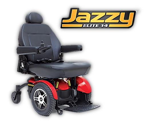 Pride Jazzy Select 14 power chair
