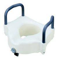 Merits Raised Toilet Seat with Lock