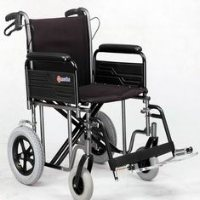 Merits 22x18 Bariatric Transport wheelchair