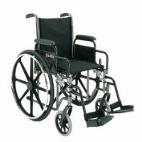 Merits Standard Wheelchair (Dual axles)