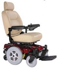 Drive Sunfire Gladiator Mid-Wheel power chair