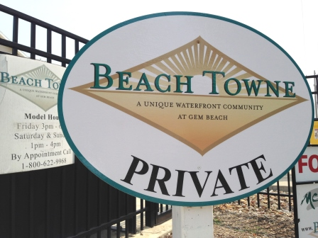 Beach Towne Waterfront Condos at Gem Beach
