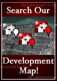 Lakewood Map of Homes for Sale