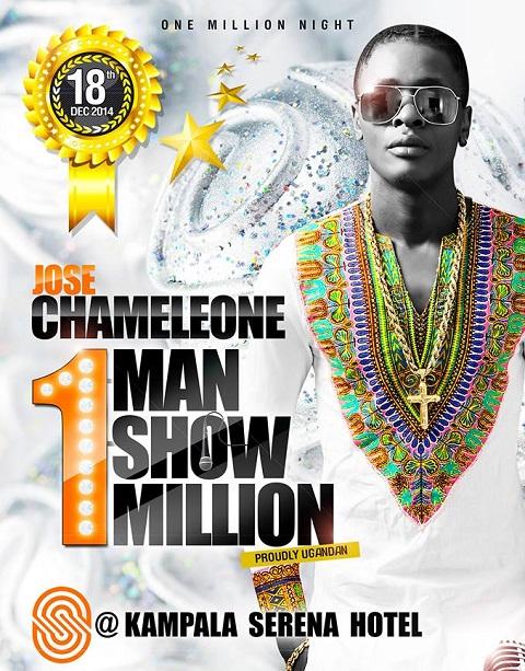 Jose Chameleone's One Man show