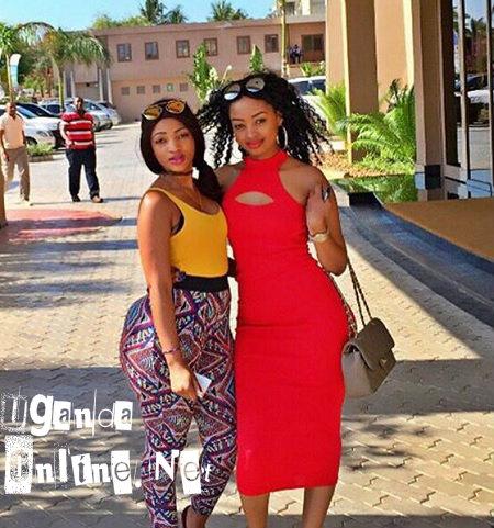 Agnes Masogange and Anita Fabiola