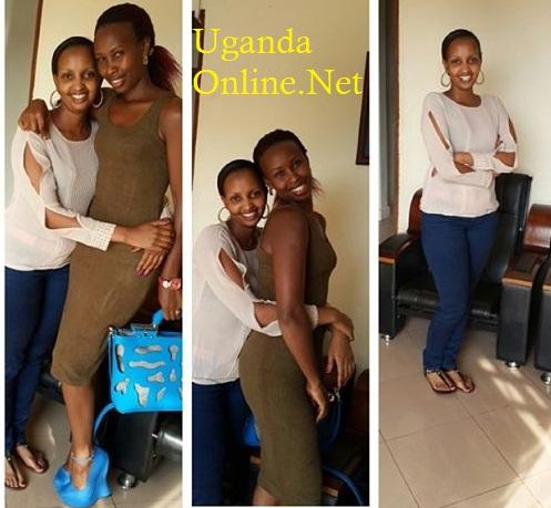 Aisha Mayinja and Barbie Kyagulanyi
