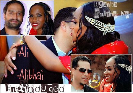 Ali Alibhai and Sylvia Namutebi on their day