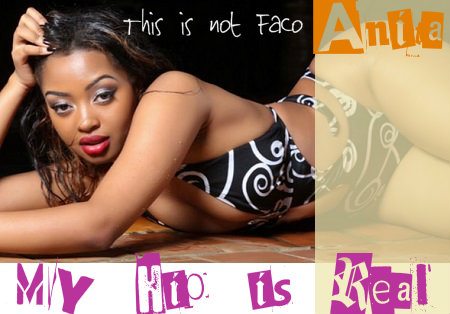 Anita Fabiola showing off her hips