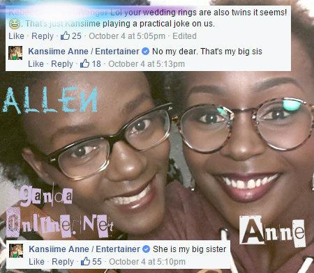 Allen and Anne....