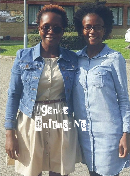 Anne Kansiime and her 'sister'