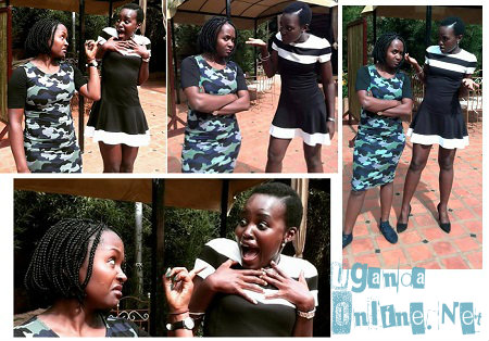 Comedienne Anne Kansiime and actress Lupita Nyong'o