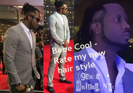 Bebe Cool in South Africa during the MAMA awards