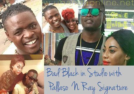 Bad Black in studio with Ray Signature and Pallaso