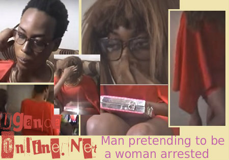 Ivan Pepetwa who pretends to be a woman