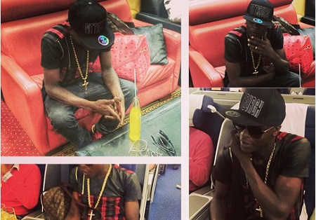 Chameleone wile traveling to Berlin for Independence celebrations