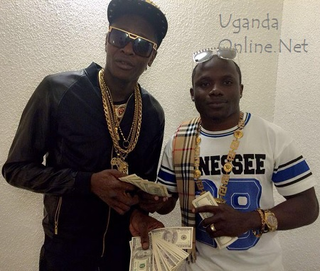 Chameleone and Katsha after he had paid for his One Million show ticket