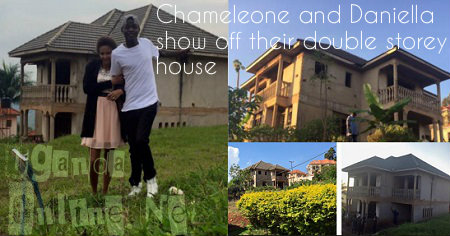 Chameleone shows off his double storey house