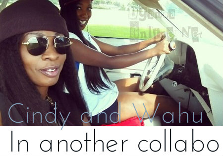 Cindy and Kenya's Wahu in another collabo