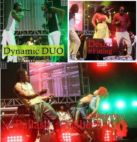 Weasel and Moze doing their thing with Pallaso, Desire and Sheebah