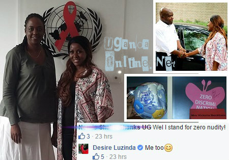 Desire at the UN AIDS offices