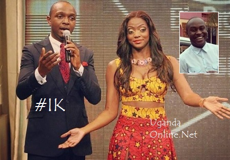 IK ushering Uganda's Ellah to the Big Brother House