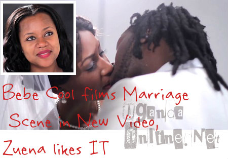 Zuena not bothered as Bebe kisses a video vixen