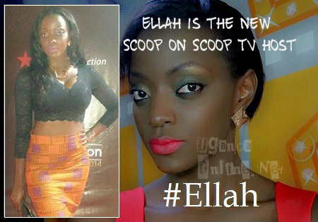 Ellah on Urban TV and inset is Ella at the Abryanz awards, MTN Arena