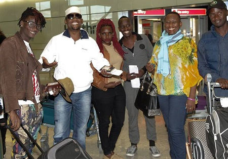 Artistes set to perform in UK on Valentine's day