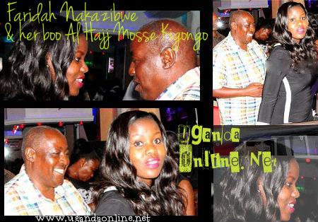 Faridah Nakazibwe and Al Hajj Moses Kigongo at Guvnor