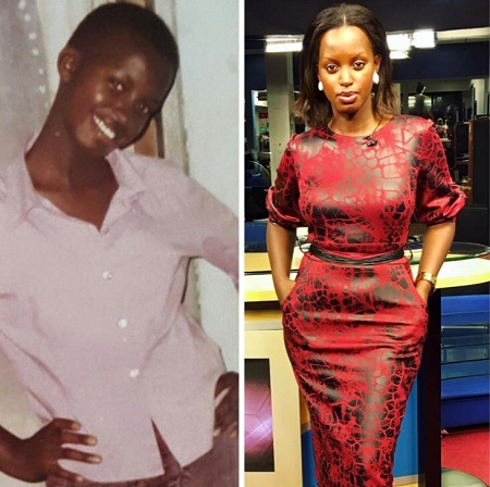 Flavia Tumusiime - Then VS. Now