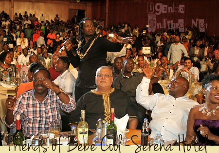 Friends of Bebe Cool show at Serena Hotel