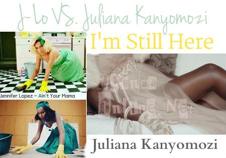 Did Juliana copy J-Lo's Ain't Your Mama ?
