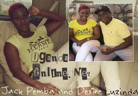 Jack Pemba and Desire Luzinda