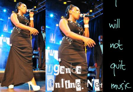 I will not quit music - Judith Babirye