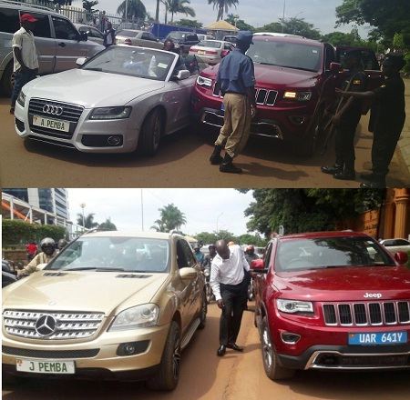 Jack Pemba's ML 350 came juts in time to rescue him