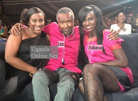 Judge Ian and Juliana at a Tusker Project Fame event recently