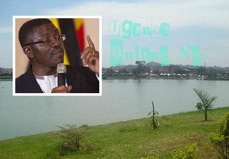 Kabaka's lake and inset is Buganda's Prime Minister, Charles Peter Mayiga