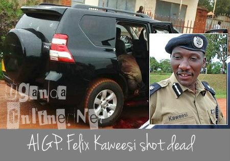 AIGP Felix Kaweesi shot dead
