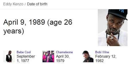 Was Kenzo born on December 25??