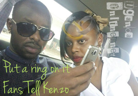 Put a ing on it, Fans tell Kenzo !!