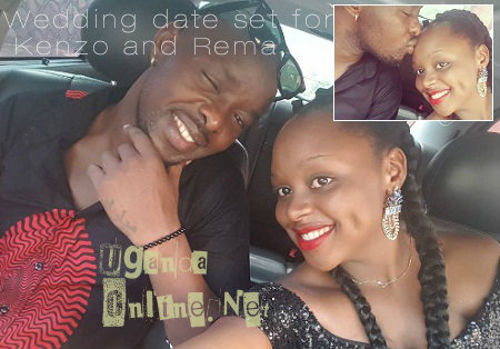 Wedding date set for Kenzo and Rema
