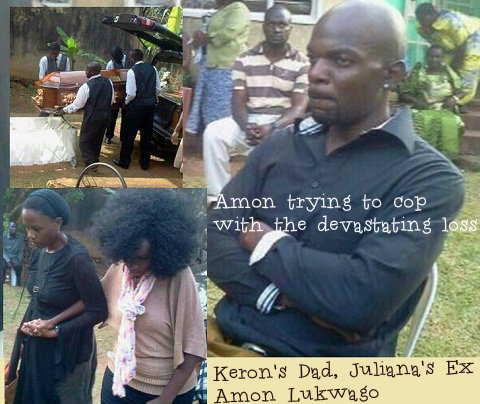 Keron's dad, Amonn Lukwago trying to cop with the devastating loss