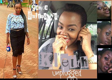 Inset is Kleith Kyatuhairwe's pics doing rounds