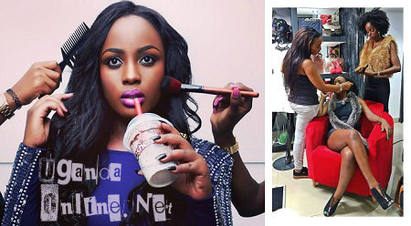 Make Up, Milk shakes, selfies are the other Leila Kayondo pass time activities