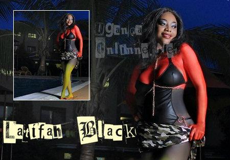 Bad Black will be using LATIFAH Black as her stage name